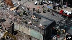 Обрушение здания в Филадельфии