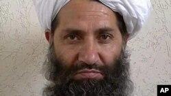 Vođa talibanskih boraca Mula Haibatula Akundzada na fotografiji sa nepoznate lokacije