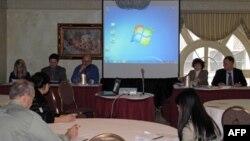 美国路易斯维尔大学亚洲民主化问题讨论会