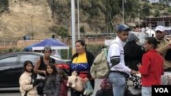 Venezolanos cuentan sus historias al cruzar fronteras