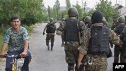 Kırgızistan'da Güvenik Kuvvetlerine Silahlı Saldırı