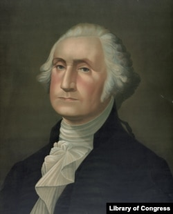 George Washington was the country's first president. Curator Harry Rubenstein at the Smithsonian's National Museum of American History says the writers of the Constitution created the position of president with Washington in mind.