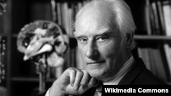 Francis Crick, ilmuwan Inggris pemenang hadiah Nobel bidang kedokteran tahun 1962 (foto: dok).