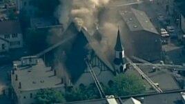 Boston, një kishë shqiptare përfshihet nga zjarri