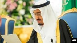 Raja Arab Saudi, Salman menegaskan komitmen Saudi sebagai penyelenggara ibadah haji (foto: dok).