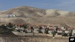 Khu định cư Maaleh Adumim của người Do Thái gần Jerusalem.