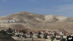 Mazaunar Isra'ilawa kennan dake Maaleh Adumim. Dec. 2. 2012