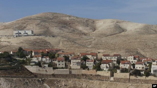 Permukiman Yahudi 'Maaleh Adumim' dekat Yerusalem, yang dibangun di kawasan Tepi Barat di Palestina yang diduduki Israel (foto: dok).
