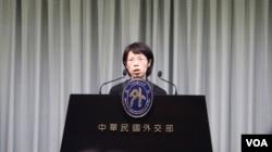 台湾妇女救援基金会执行长康淑华 (美国之音李逸华拍摄)