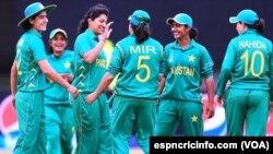 پاکستان کی وہمنز کرکٹ ٹیم نیوزی لینڈ کے خلاف میچ جیتے کے بعد