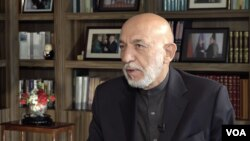 Karzai Interview With VOA