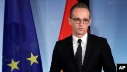 Almaniyanın xarici işlər naziri Heiko Maas