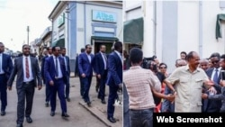 PM Abiy and Pr. Isiaias in Asmara