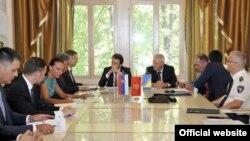 Sastanak ministara unutrašnjih poslova Crne Gore, Srbije i Bosne i Hercegovine u Podgorici (gov.me)