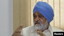 Deputy Chairman of India's Planning Commission Montek Singh Ahluwalia, July 30, 2012.