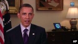3月26日奥巴马总统发表每周六例行讲话