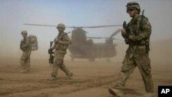 عساکر امریکایی در افغانستان