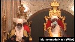 Ziyarar Sarkin Zazzau na 19 Ambassador Ahmad Nuhu Bamalli a fadar Sarkin Musulmi Muhammad Sa'ad Abubakar