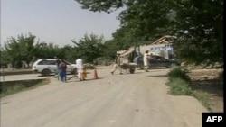 Mesto današnje eksplozije u Kandaharu