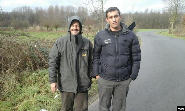 Syrian refugee Basheer Alzaalan on his journey to Germany via Turkey, Greece and Eastern Europe. (Photo courtesy B. Alzaalan)