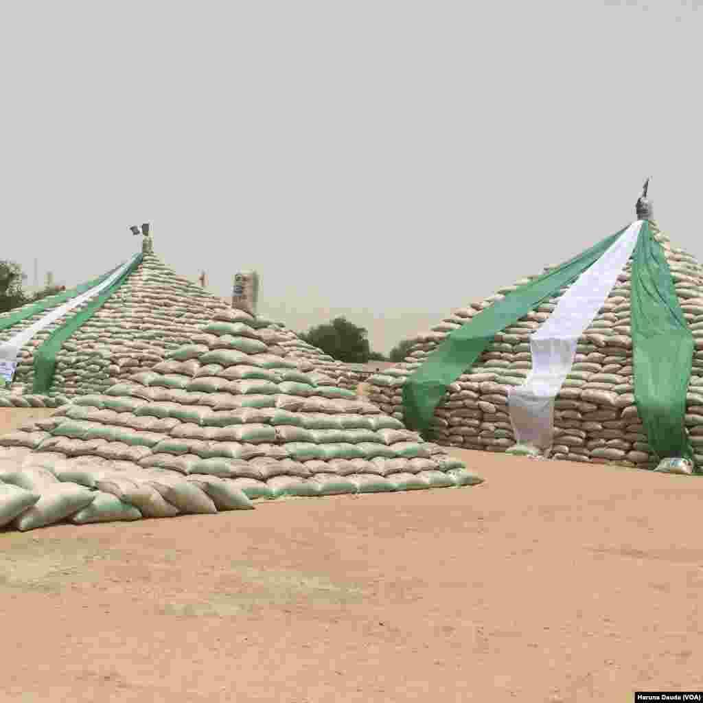 BORNO: Dalar shinkafa a Borno
