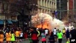 Boston မာရသြန္ၿပိဳင္ပြဲ က်င္းပစဥ္ ဗံုးေပါက္ကြဲမႈျဖစ္ (၁၅ ဧၿပီ ၂၀၁၃)