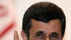 احمدی نژاد: برنامه اتمی ایران یک «مقوله کهنه» است