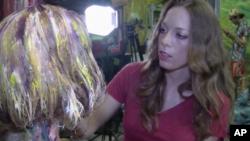الکسا مید Alexa Meade نقاش بدن