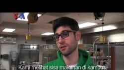 Mahasiswa AS Salurkan Makanan, Selamatkan Lingkungan
