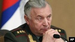 Начальник Генштаба Вооруженных Сил РФ генерал армии Николай Макаров