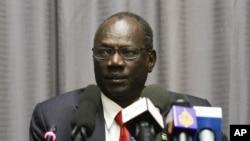 Bộ trưởng Thông tin Nam Sudan, ông Michael Makuei.