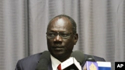 South Sudanese Information Minister Michael Makuei Lueth