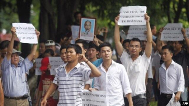 Chính quyền Hà Nội ra lệnh ngưng biểu tình chống Trung Quốc
