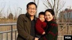 維權律師王全璋與妻子李文足