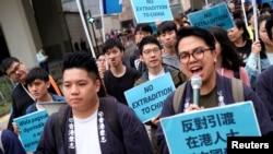 成千上万香港民众2019年3月31日游行抗议《逃犯条例》。