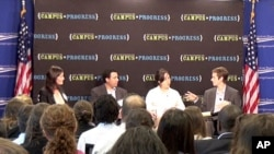 Campus Progress National Conference in July, organized by the Center for American Progress based in Washington, DC