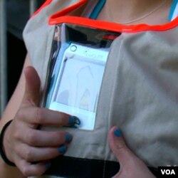 Učenici na sebi tokom vožnje nose specijalne instrumente za mjerenje