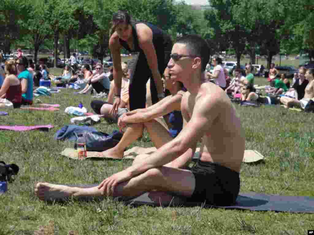 Недела на Јогата во главниот американски град