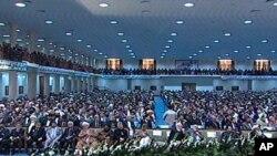 افتتاح لویه جرگه عنعنوی افغانستان در میان موجی از تدابیر امنیتی در کابل