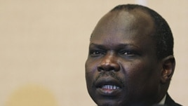 South Sudan chief negotiator Pagan Amum (file photo)