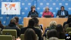 Phumzile Mlambo-Ngcuka dijo en una entrevista y en un discurso antes de la reunión anual de la Comisión sobre el Estado de la Mujer, que inicia lunes 11 de marzo que el acceso asequible a internet y el uso de celulares son clave para cambiar la vida de las mujeres.
