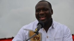 Rafael Savimbi diz que eleitores não devem ter medo de falar e da mudança - 1:28