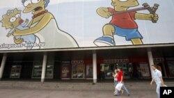 Здание кинотеатра «Октябрь» (архивное фото)