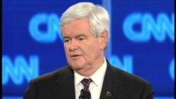 2012-01-27 粵語新聞: 美國共和黨總統參選人在佛羅里達辯論