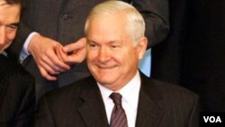 Menteri Pertahanan AS, Robert Gates.