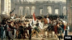 1790-cı illərdə inqilabi Fransada hakimiyyət dəyişikliyi mütəmadi hal almışdı
