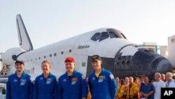 Tripulação da STS-135 Atlantis