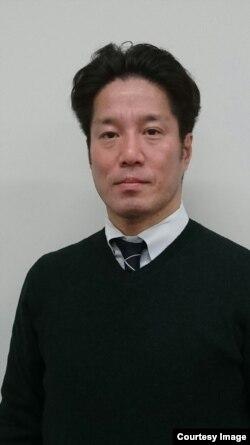 일본인 납북 피해자 요코타 메구미 씨의 남동생 테츠야 씨.