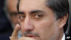 前阿富汗外交部長阿卜杜拉