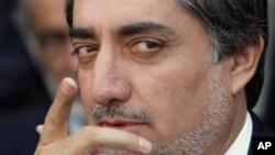 حزب مخالف کے سرکردہ رہنما عبداللہ عبداللہ